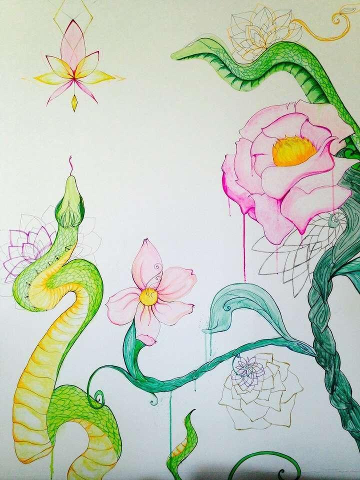 Particolare Murale Eden